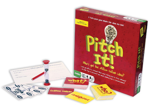 Pitch It! Game